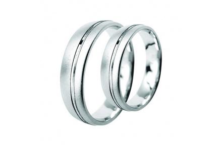 Snubní prsteny Lucie Gold Charlotte S-185, materiál bílé zlato 585/1000, váha: průměrná 7.80g