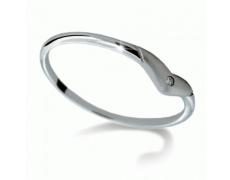 Briliantový prsten Danfil DF1873, materiál bílé zlato 585/1000, 1x briliant SI1/G = 0.011 ct, váha: