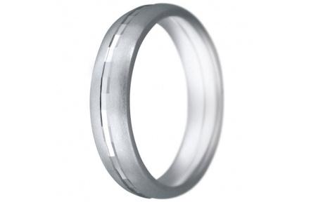 Snubní prsteny kolekce CLAUDIA7, materiál bílé zlato 585/1000, váha: u velikosti 54mm - 7.50g