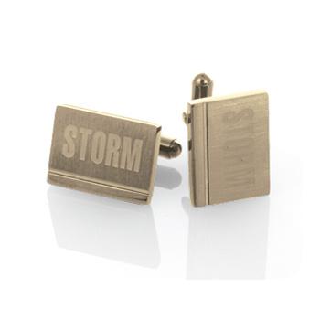 Manžetové knoflíčky Storm Niki Gold
