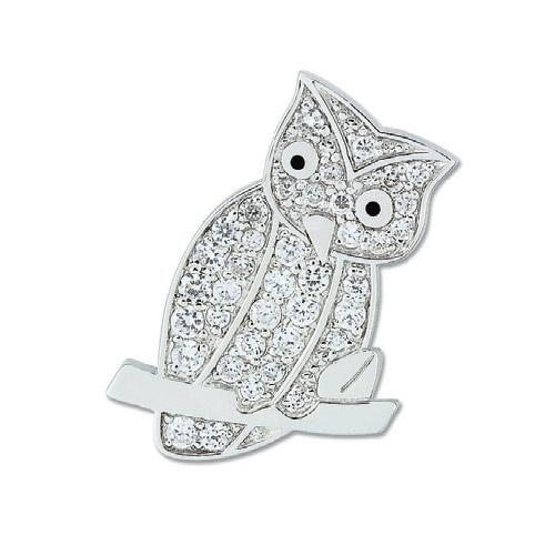 Ozdobná brož Cacharel CSS227Z, materiál stříbro 925/1000, zirkon, váha: 5.40g