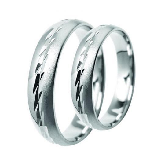 Snubní prsteny Lucie Gold Charlotte S-194-b, materiál bílé zlato 585/1000, váha: průměrná 7.20g
