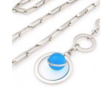 Náhrdelník Storm Baril Hoop Blue
