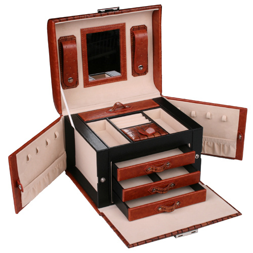 Šperkovnice Gold Pack Croco KL37