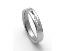 Dámský ocelový snubní prsten RZ04045