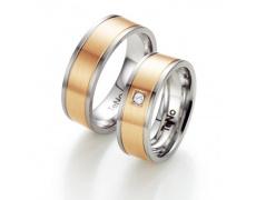 Snubní prsten TeNo 068-22P01-D40RG