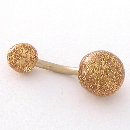 Piercing do pupíku AZNB-GOLD
