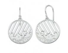Stříbrné náušnice Cacharel CAW195, materiál stříbro 925/1000, váha: 10.10g