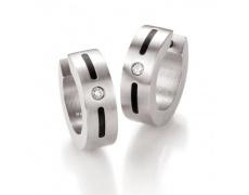 Náušnice s diamanty TeNo Basix 034-1412-D24