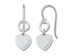 Stříbrné náušnice Cacharel CAW205, materiál stříbro 925/1000, váha: 3.00g