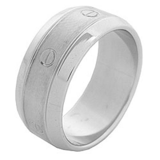 Prsten z chirurgické oceli RSS31