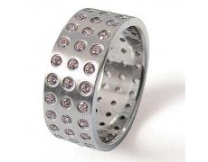 Prsten z chirurgické oceli 08003