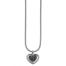 Náhrdelník Esprit Heart Twist Black ESNL-91785A