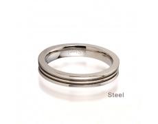Ocelový prsten Tribal RST04