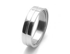 Pánský ocelový snubní prsten RZ86118