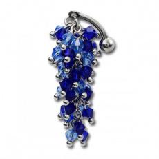 Piercing do pupíku TBFL09-BLUE