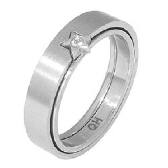 Prsten z chirurgické oceli RSS 95