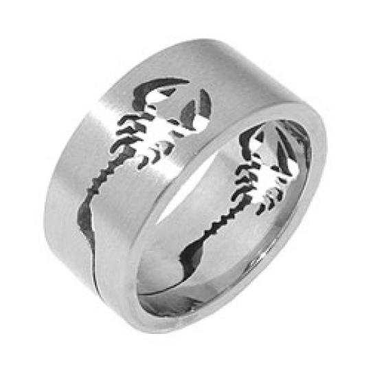 Prsten z chirurgické oceli RSSO304