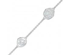 Stříbrný náramek Cacharel CSB200Z18, materiál stříbro 925/1000, zirkon, váha: 5.60g