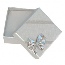 Dárková krabička na náušnice Silver