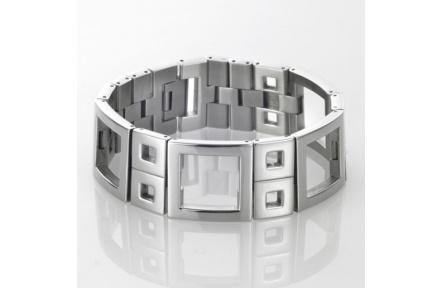 Náramek Storm Harlequin Square Silver