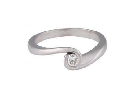 Zlatý prsten Champs Elysées D0077-28