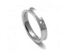 Dámský titanový snubní prsten TTN1403