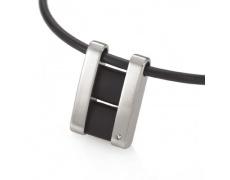 Ocelový přívěsek s diamantem TeNo ShiKou 045-3312-00