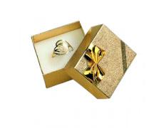Dárková krabička na prsten Gold