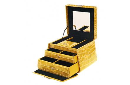 Šperkovnice Ambassador Cocco XL 8531YELLOW