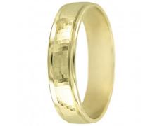 Snubní prsteny kolekce A18, materiál žluté zlato 585/1000 , váha: u velikosti 54mm - 3.30g