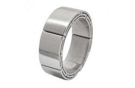 Prsten z chirurgické oceli RSS07
