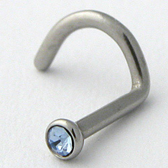 Piercing do nosu JBNS2lsapphire