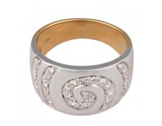 Zlatý prsten Champs Elysées B0378-G08