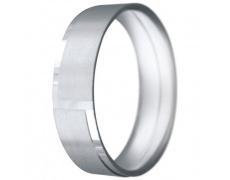Snubní prsteny kolekce CLAUDIA18, materiál bílé zlato 585/1000, váha: u velikosti 54mm - 6.50g
