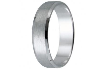 Snubní prsteny kolekce HARMONY8, materiál bílé zlato 585/1000, váha: u velikosti 54mm - 3.50g