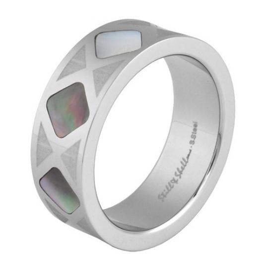 Prsten s perletí RSSH01 Dark