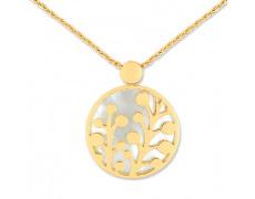 Zlatý náhrdelník Cacharel XC527JN, materiál žluté zlato 585/1000, perleť, váha: 6.10g