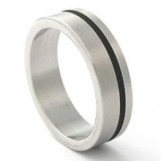 Prsten z chirurgické oceli RSS251
