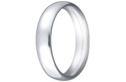 Snubní prsteny kolekce CLAUDIA4, materiál bílé zlato 585/1000, váha: u velikosti 54mm - 7.50g