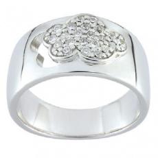 Stříbrný prsten Cacharel CSR152Z, materiál stříbro 925/1000, zirkon, váha: 7.20g