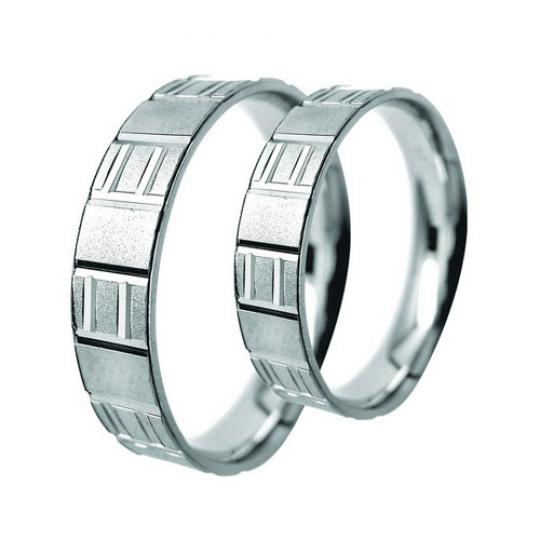 Snubní prsteny Lucie Gold Charlotte S-190, materiál bílé zlato 585/1000, váha: průměrná 7.20g