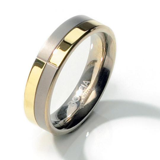 Titanový prsten Boccia 0101-10