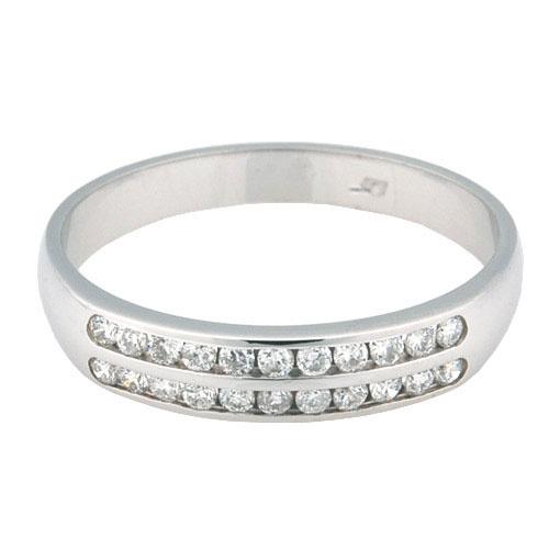 Zlatý prsten Champs Elysées B0181-G08