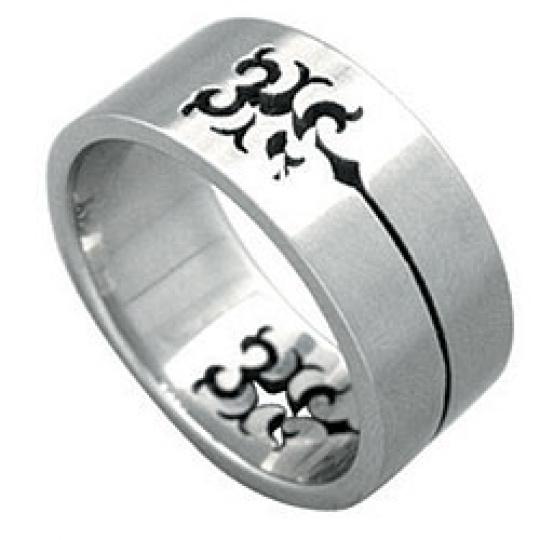 Prsten z chirurgické oceli RSSO299