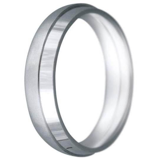 Snubní prsteny kolekce CLAUDIA6, materiál bílé zlato 585/1000, váha: u velikosti 54mm - 7.50g
