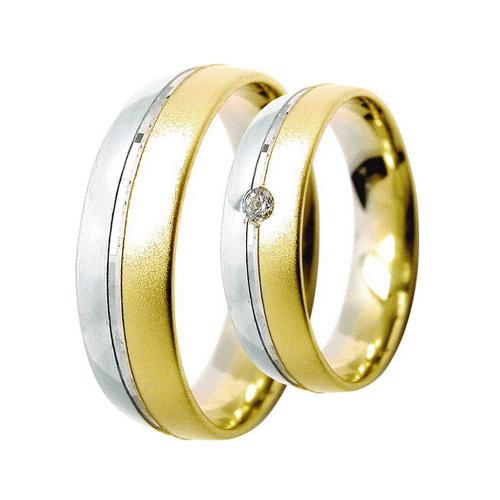 Snubni Prsteny Lucie Gold Charlotte S 075 Material Bile Zlute