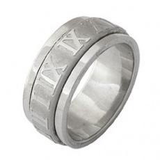 Prsten z chirurgické oceli RSST03