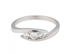 Zlatý prsten Champs Elysées B0481-G08