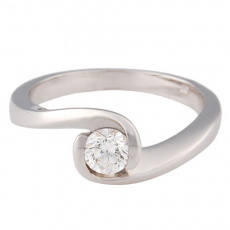 Zlatý prsten Champs Elysées D0075-G28
